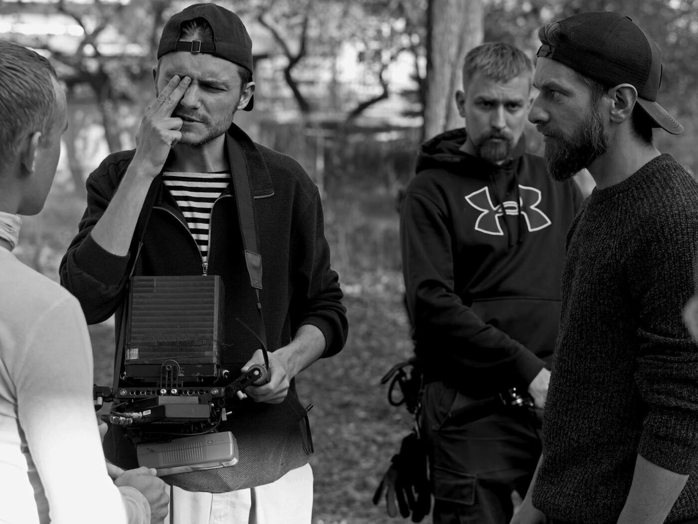 Зйомки тизеру у Львові,  фото надане кінокомпанією RADAR
