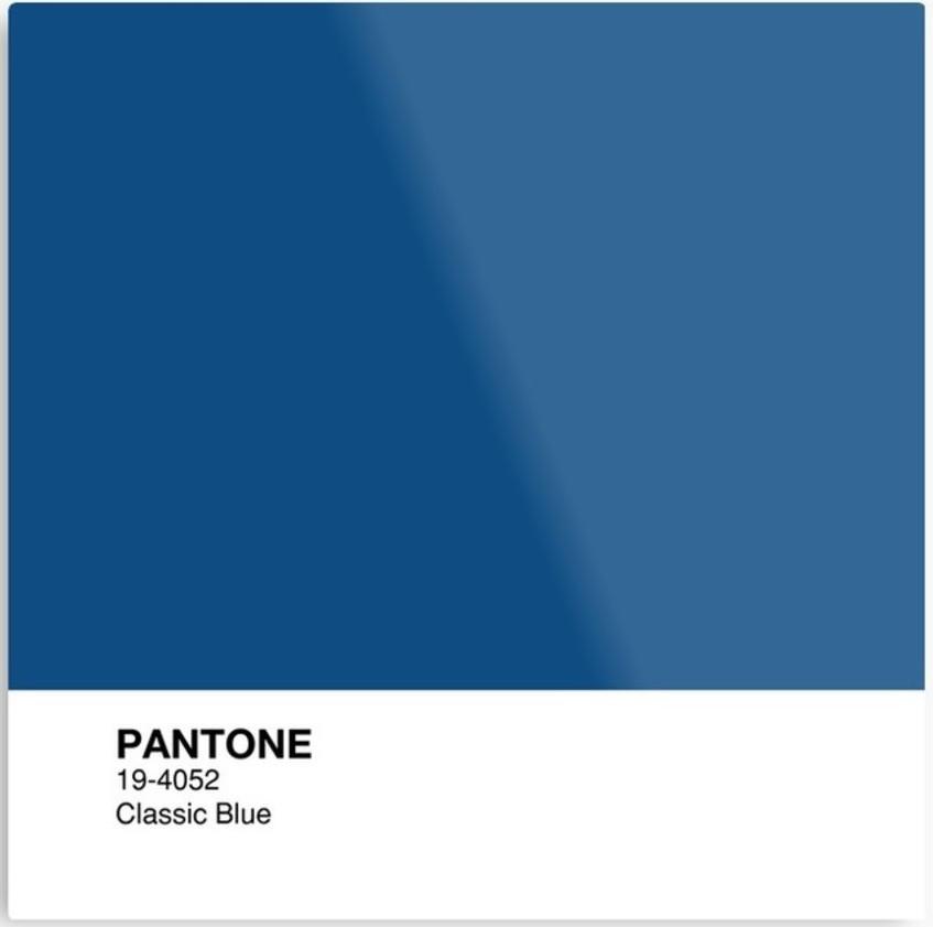 Фото з відкритих джерел: Класичний синій - колір 2020 року