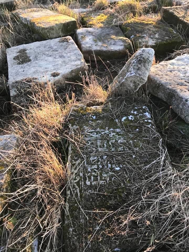 Єврейські надгробні плити у Соколівці, Марла Осборн