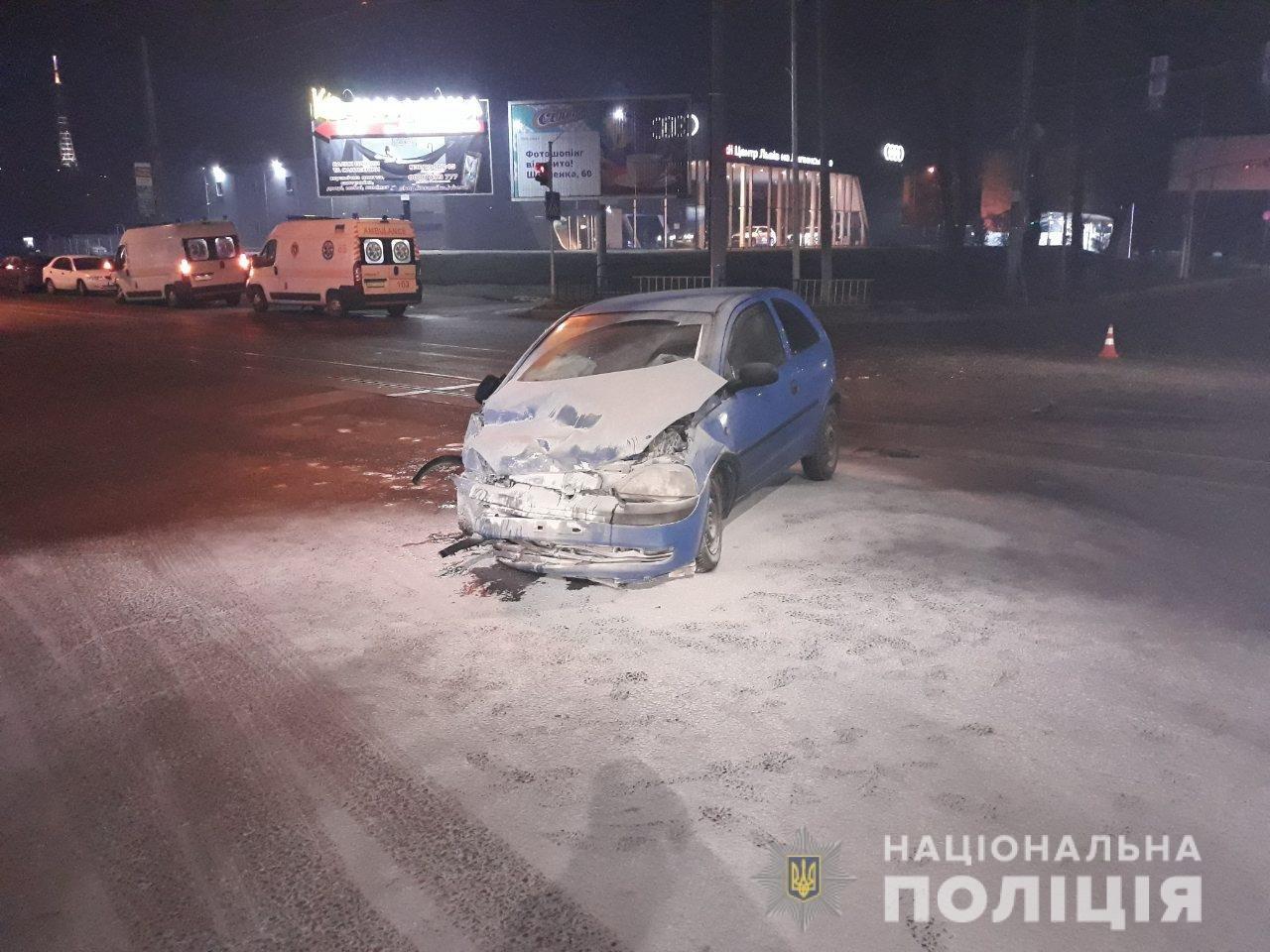 Фото: ДТП у Львові / пресслужба поліції Львівщини