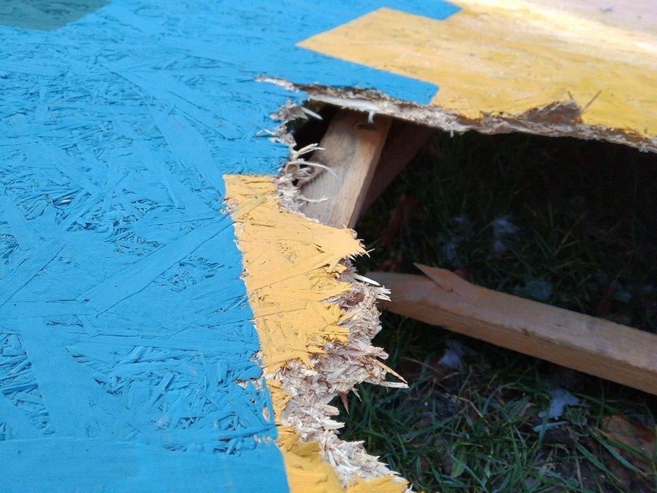 Фото: Фотозона у Парку Культури / надали 032.ua представники Парку Культури