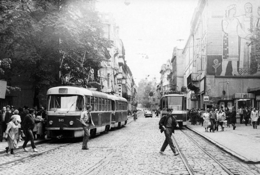 Вулиця Дорошенка, фото Василя Лозового