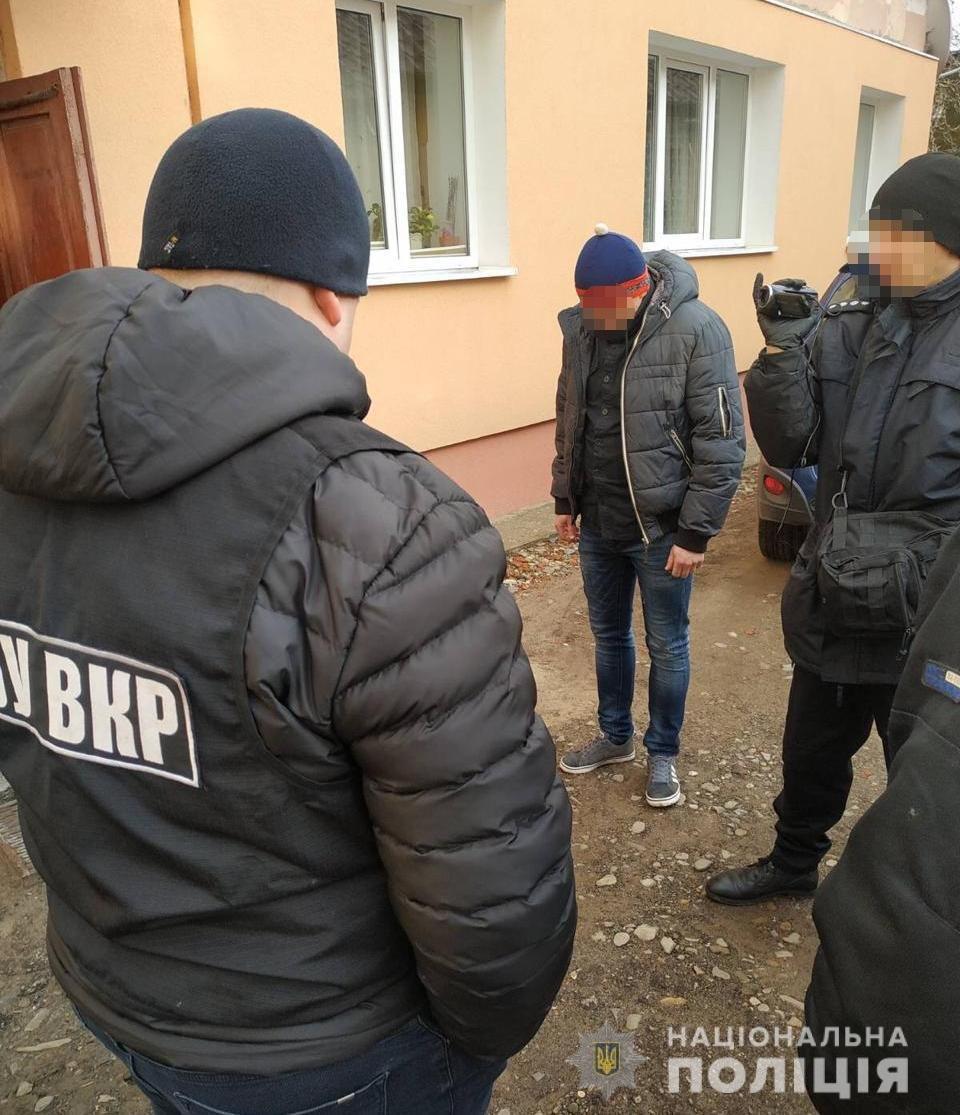 Фото: затримали наркозбувача / пресслужба поліції Львівщини