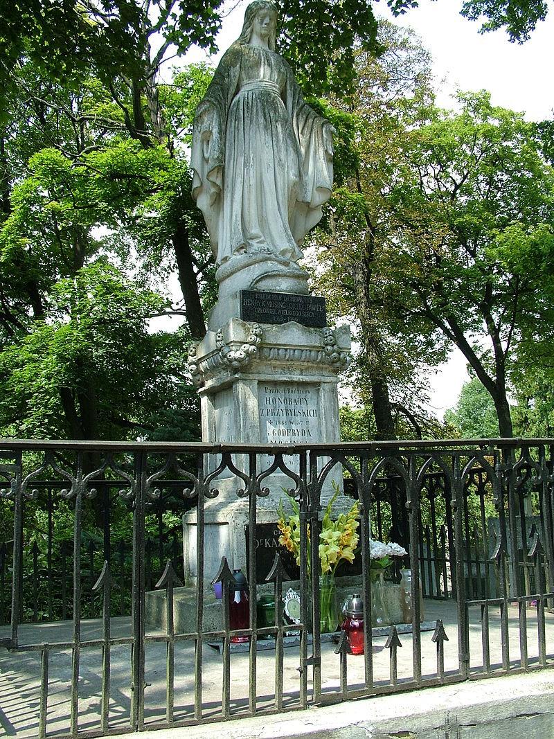Місце поховання Мосінга на Личаківському цвинтарі, Вікіпедія