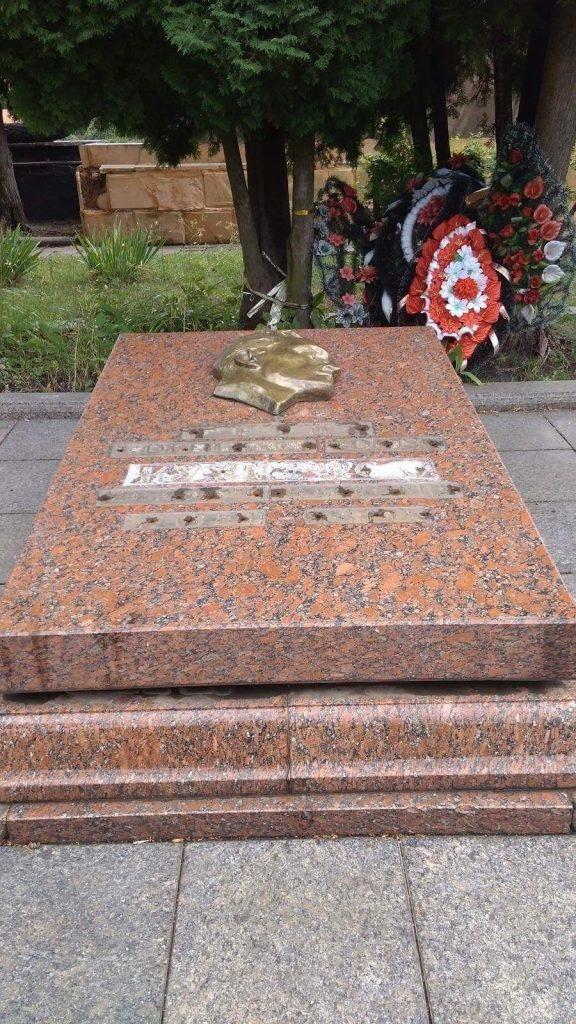 Фото поліції, могила Кузнєцова