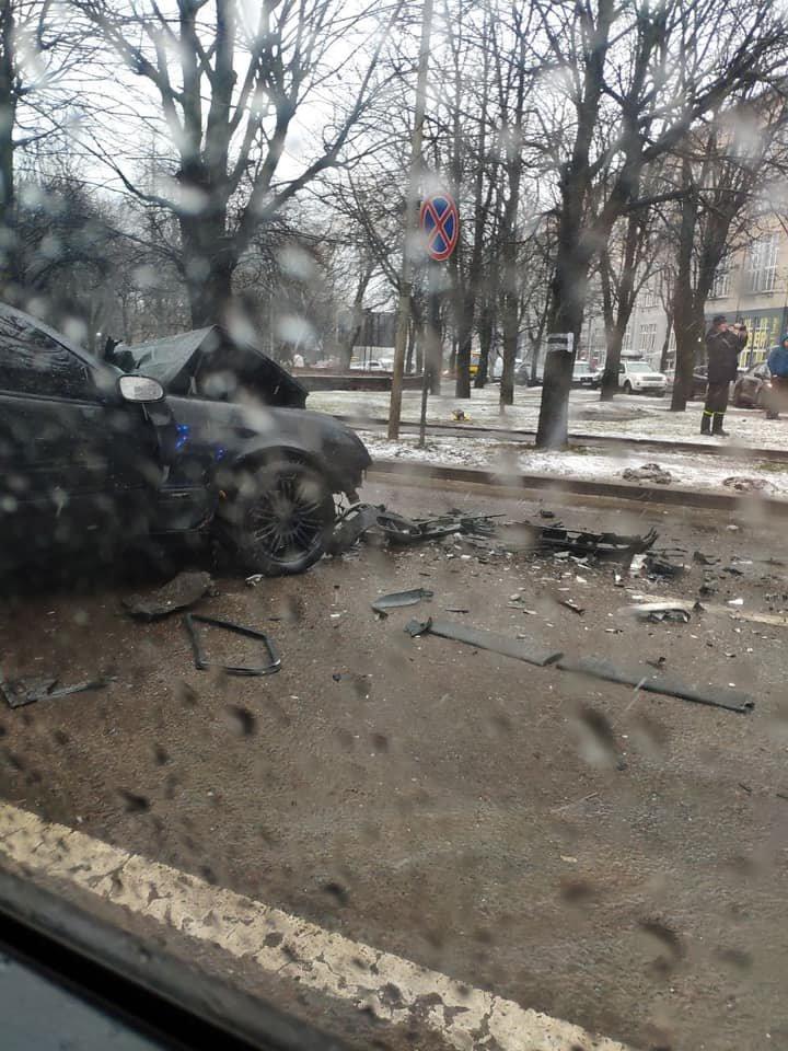 ДТП на Кульпарківській
