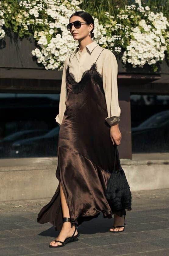 Slip Dress 2020 року.Фото - pinterest.com