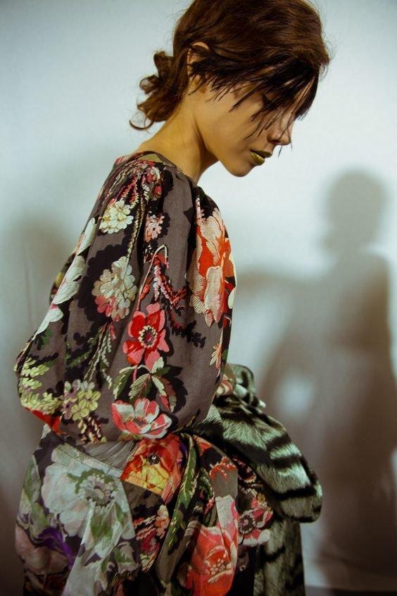 Трендові сукні в квітковий принт2020 року.Фото - pinterest.com