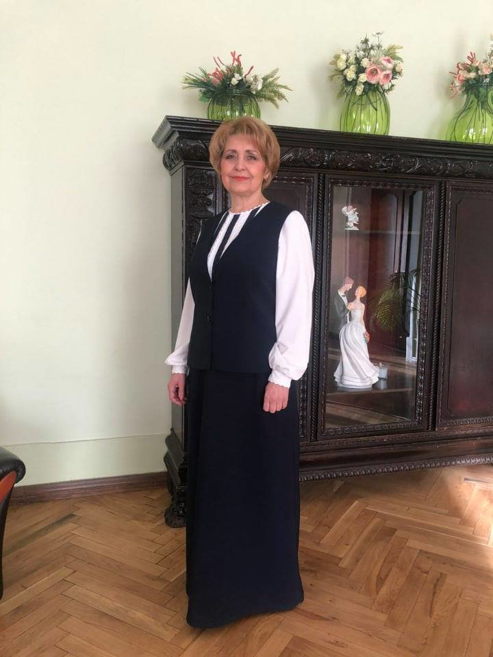 Фото: ведуча у РАЦСі / Олена Паньків