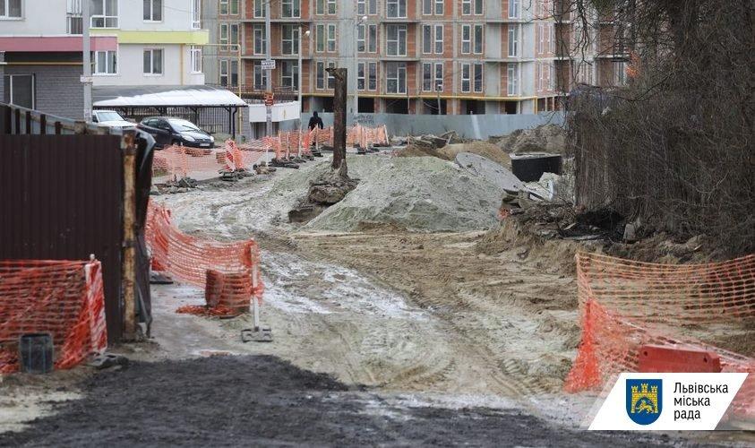 Фото: ремонт на вулиці Шевченка / пресслужба ЛМР