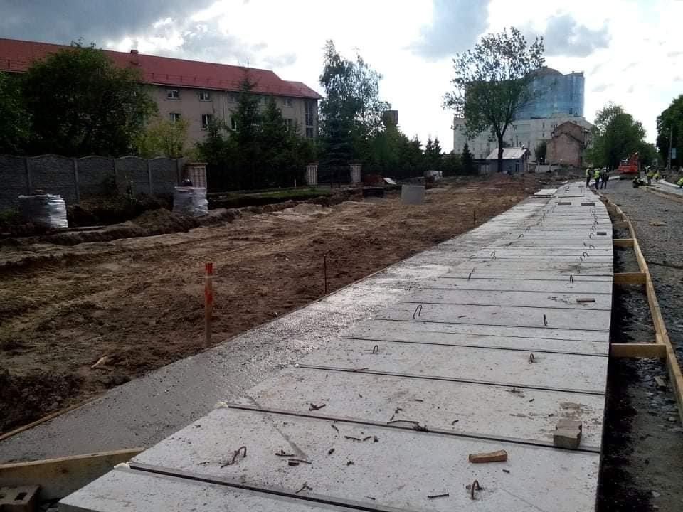 Фото: реконстнрукція вулиці Шевченка / Зручне місто, фейсбук