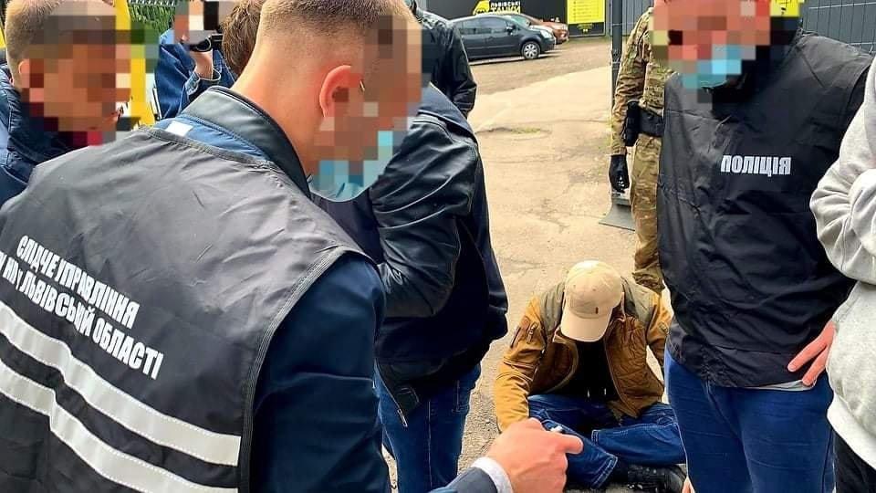 """Затримання """"муніципалів"""", фото Ірини Діденко"""