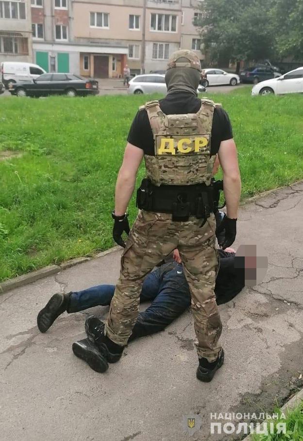 Фото з місця події / департамент стратегічних розслідувань Нацполіції, фейсбук