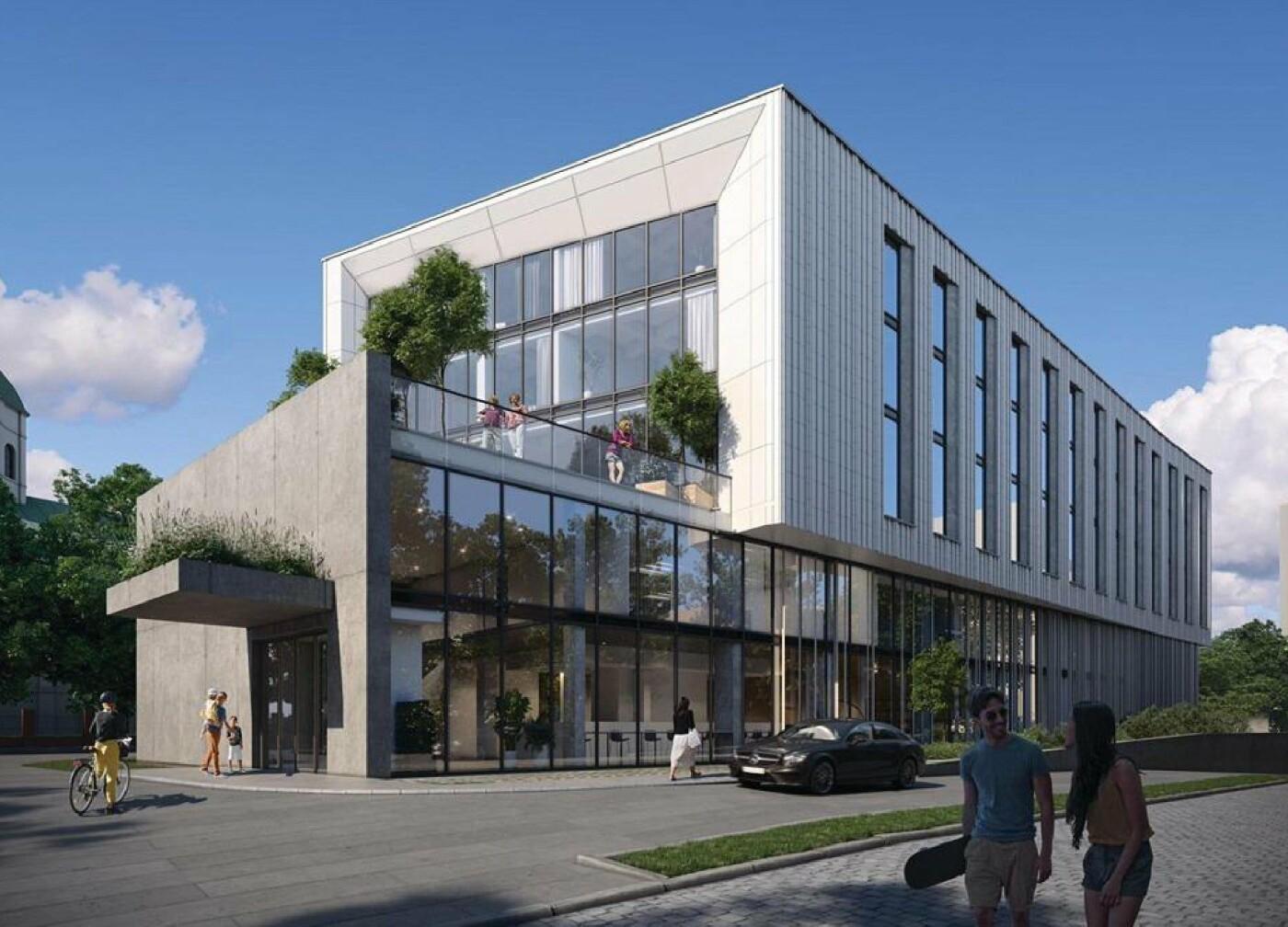 Новий готель на Шевченка, візуалізація