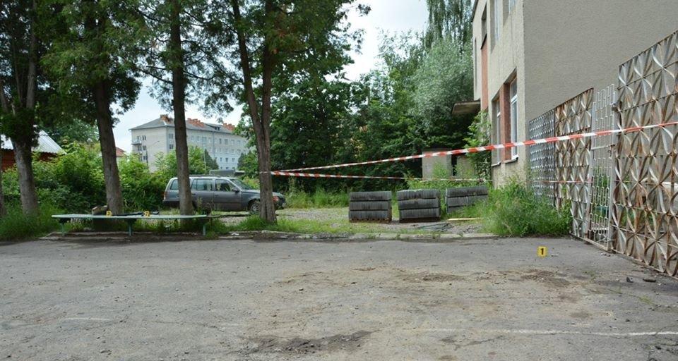 Стрілянина у Дрогобичі, фото поліції