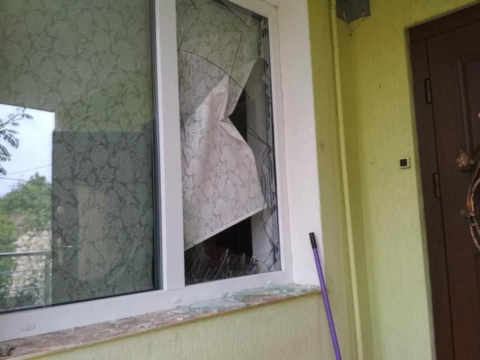 Напад на колишнього сільського голову села Миклашів. Фото - Ігор Зінкевич