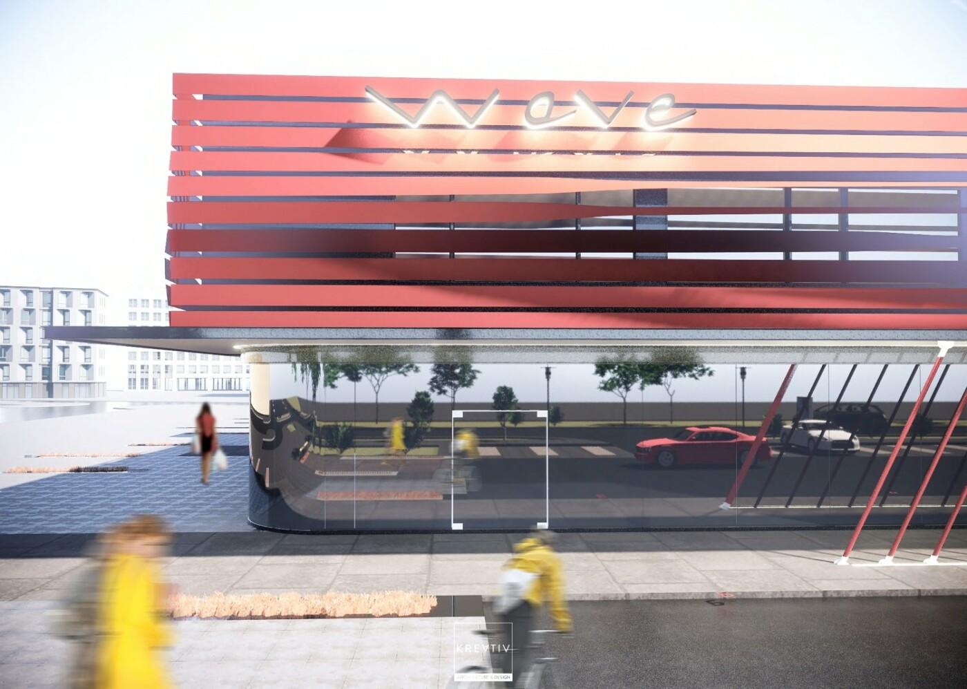 Візуалізація майбутнього торгового центру
