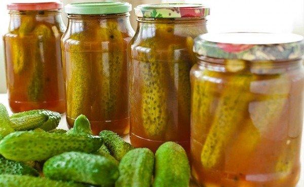 Фото умовне: консервовані огірки з кетчупом / pinterest