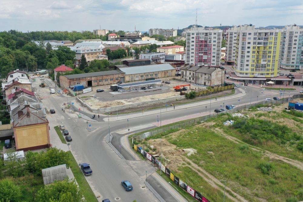 Квазікільце на Шевченка, фото: Роман Балук/ ЛМР