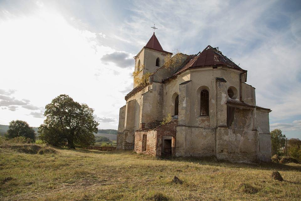 Костел у Соколівці, фото зі сторінки події у фейсбуці