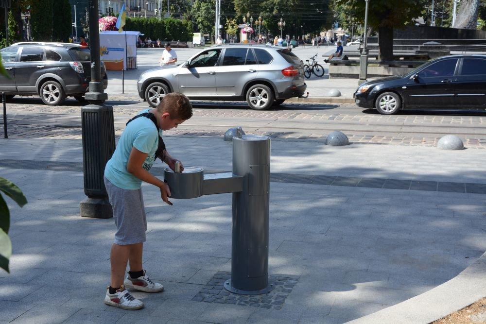 Фото: встановлені фонтани / Олександр Мазуренко