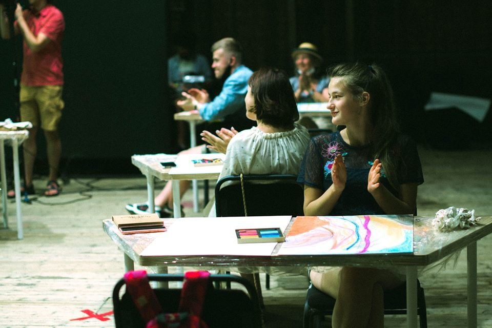 Фестиваль миттєвого мистецтва, фотозвіт Палацу Хоткевича. Надала для 032.ua Діана Ігнатенко