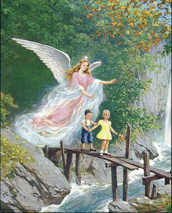 Листівки до Дня Ангела. Фото - pinterest.com