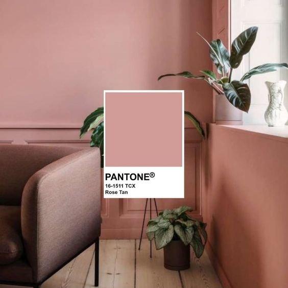 Колір Rose Tan. Фото - pinterest