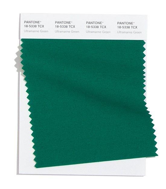 Колір Ultramarine Green. Фото - pinterest