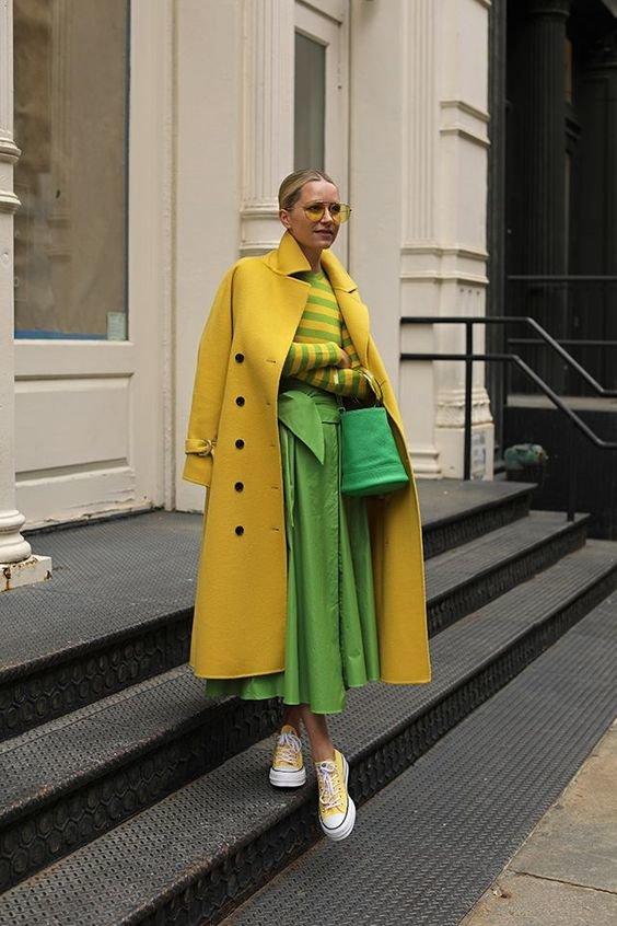 Колір Green Sheen - образи. Фото - pinterest