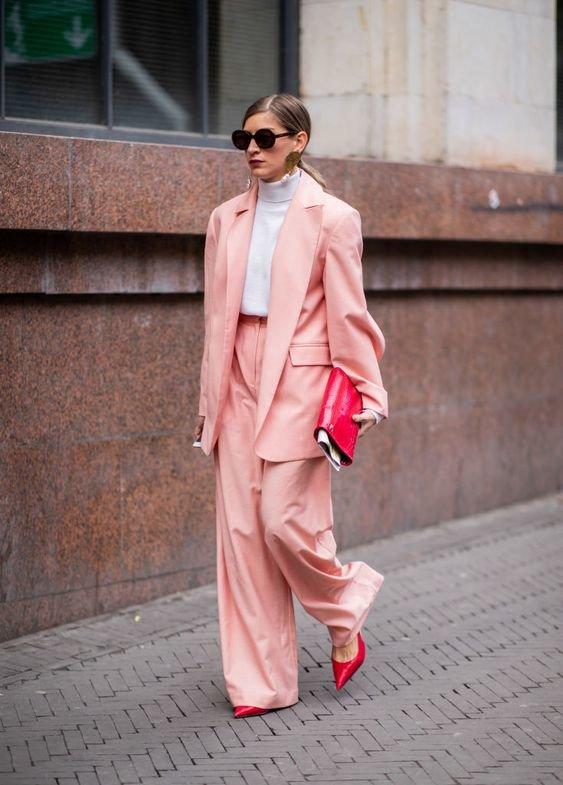 Колір Rose Tan - образи. Фото - pinterest