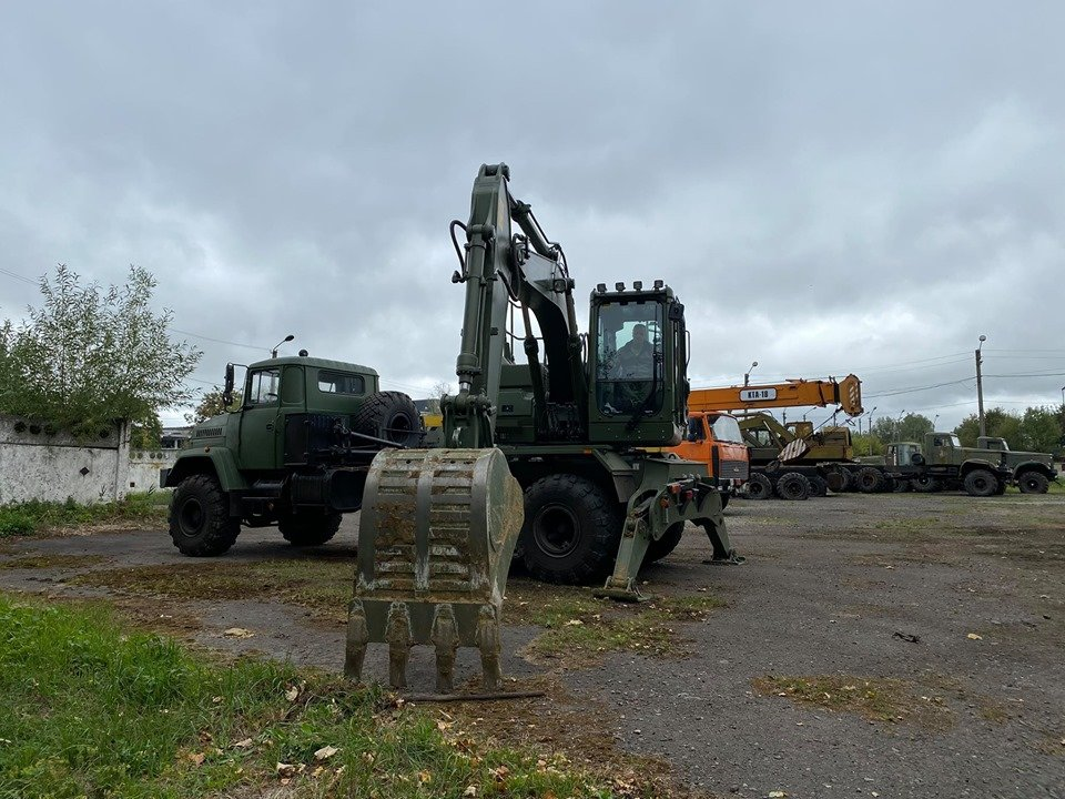 Фото: військова техніка / пресслужба Дрогобицької міськради