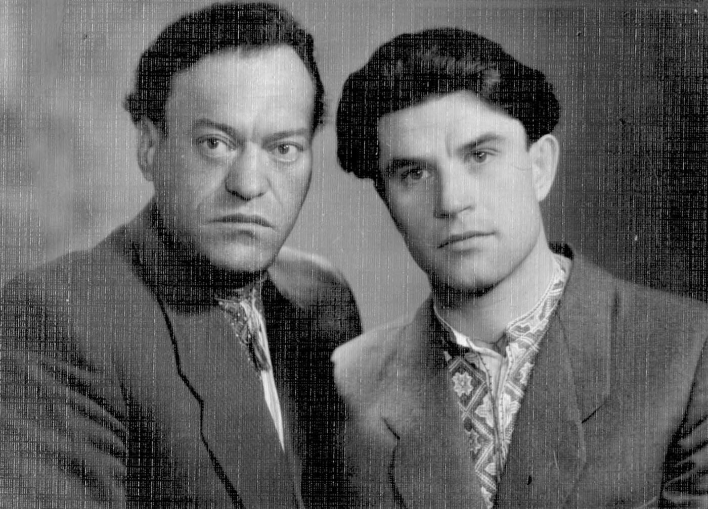 Григорій та Григір Тютюнники, фото: https://schooljournalist12.blogspot.com/