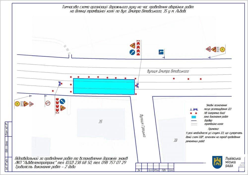 Фото: схема / пресслужба Львівської міської ради