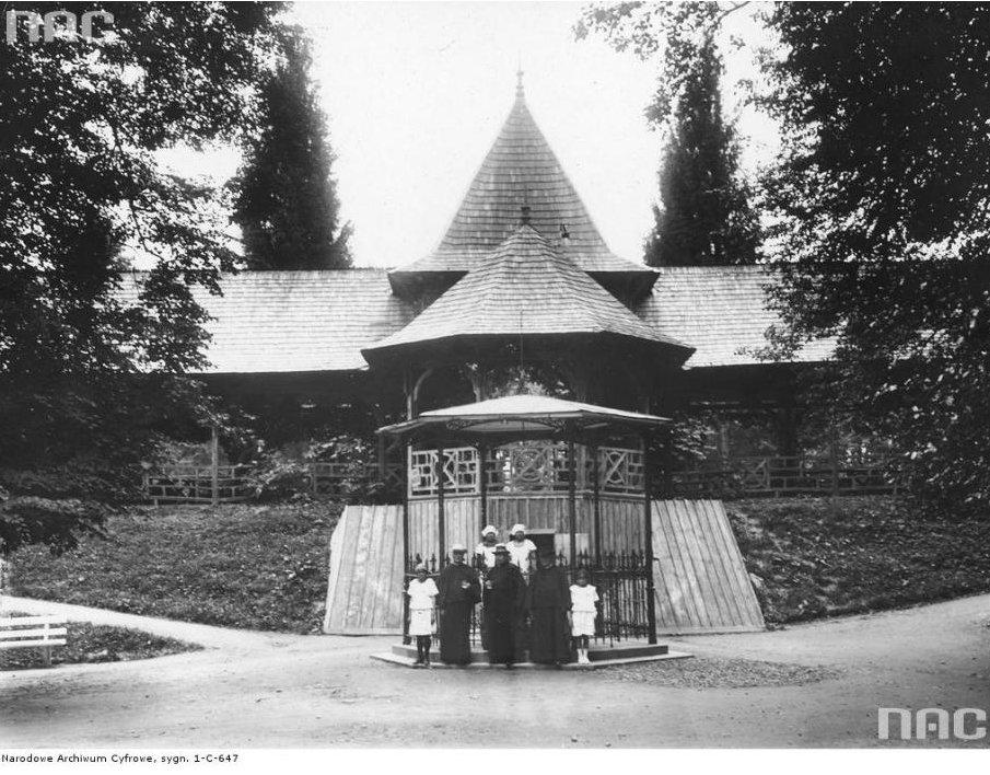 Трускавець, історичні фото з сайту Трускавецької міськради