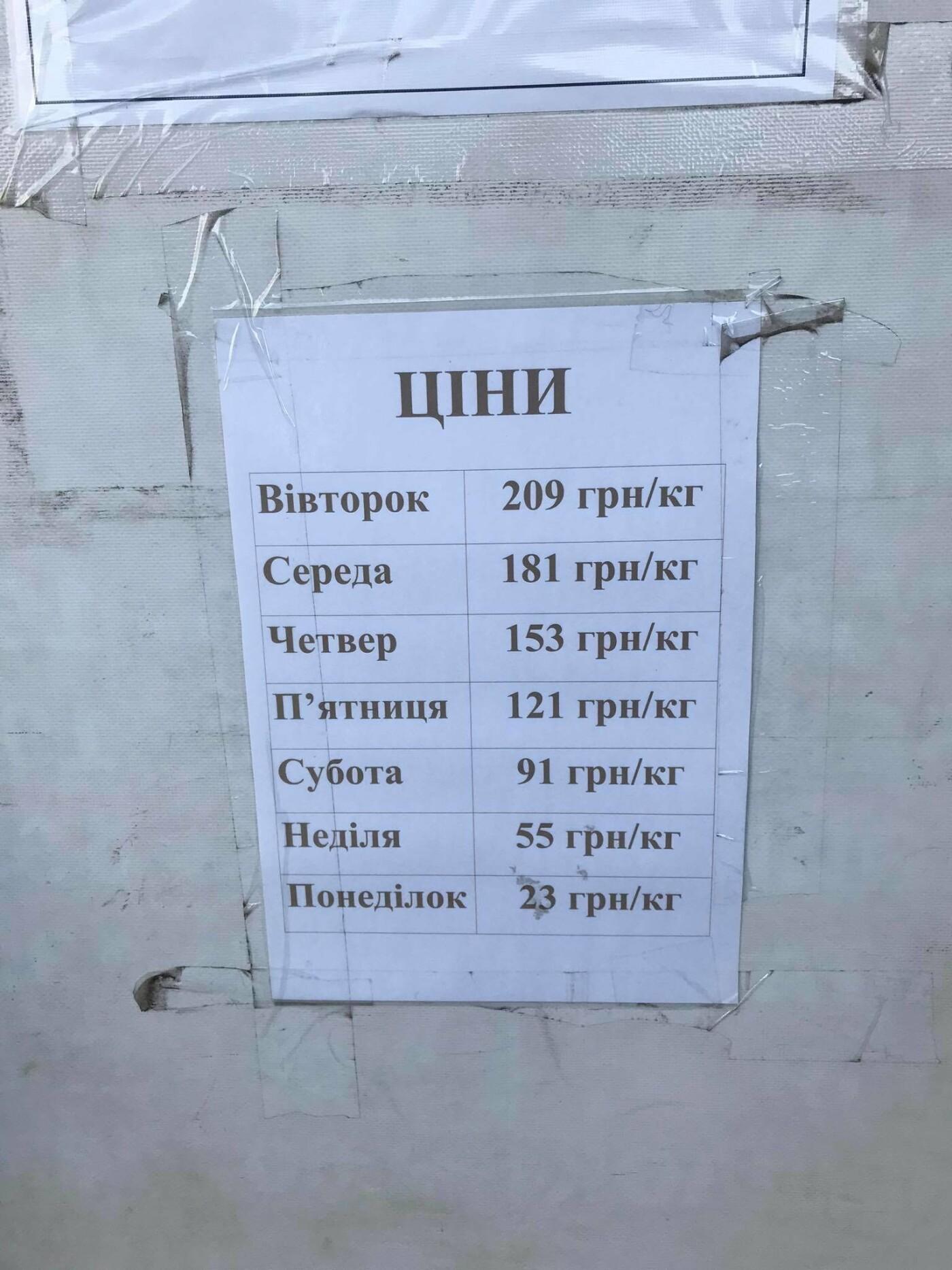 """Магазин """"ЄВРО Секонд-хенд"""" на вулиці Винниченка. Фото - 032.ua"""