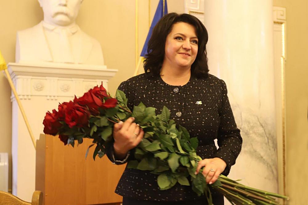 Ірина Гримак, Фото з пресслужби Львівської облради