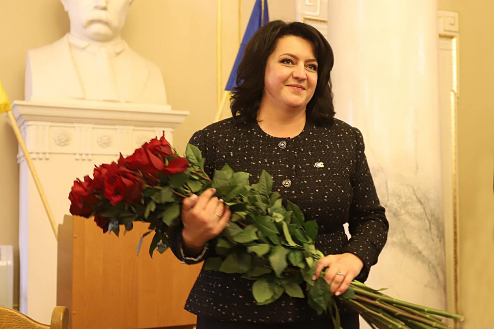 Голова ЛОР Ірина Гримак