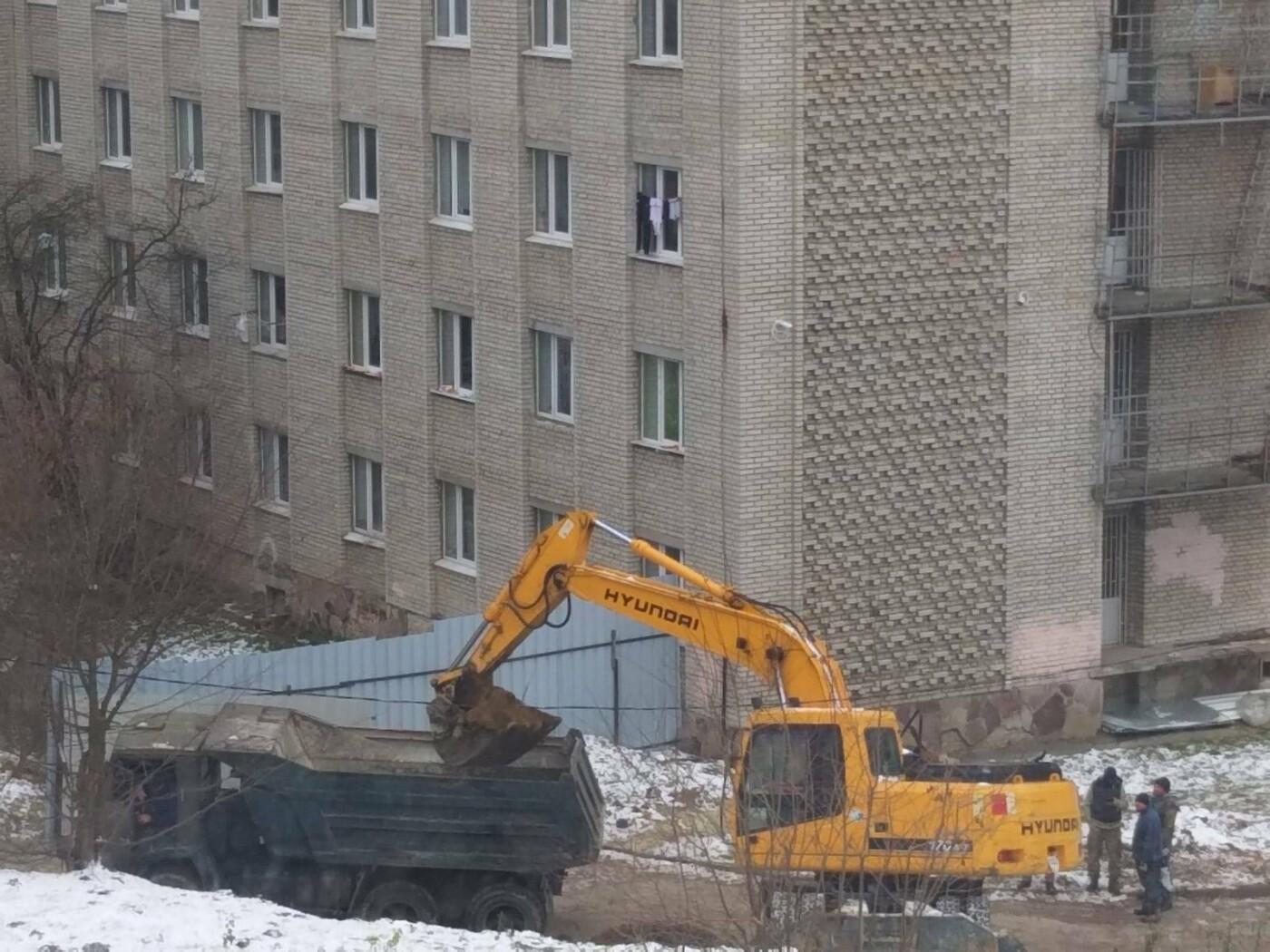 Будівництво на Пасічній, 62 у Львові, Фото Олени Кушнір