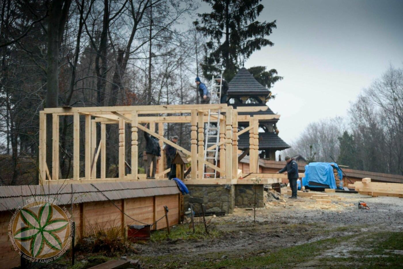 """Будівництво на території """"Шевченківського гаю"""", Фото: Леся Гарасим"""