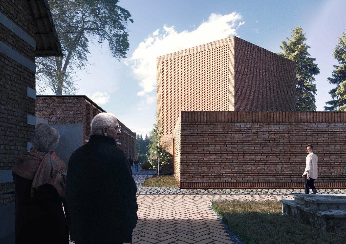 Церемоніальна будівля, Візуалізація зі сторінки Антона Коломєйцева