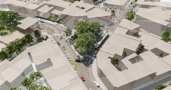 Площа Франка, Візуалізація з відео Андрія Білого