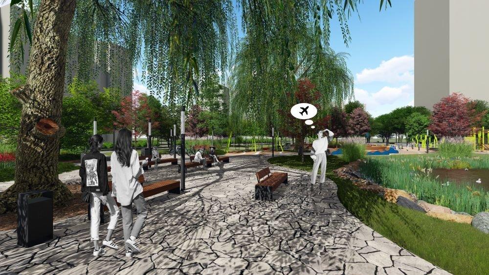 Озеро на Панча, Візуалізація з сайту ЛМР