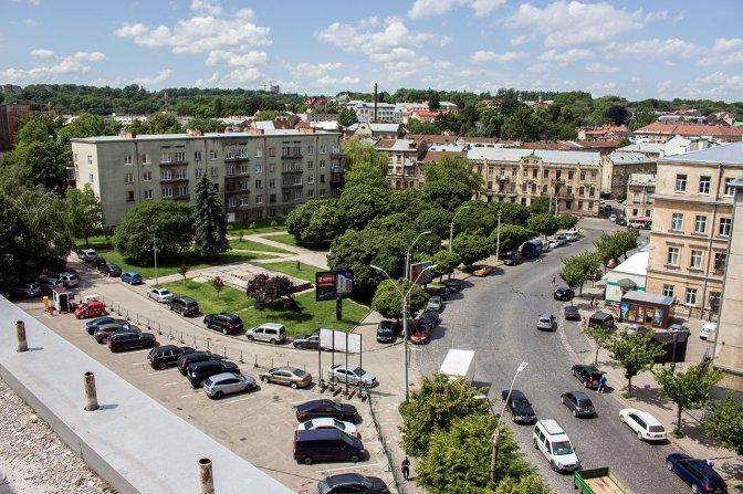 Площа Петрушевича, Фото: Prolviv.Com