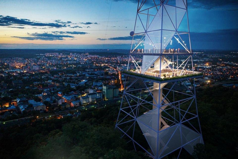 Оглядовий майданчик на Високому Замку, Фото:Guess Line Architects