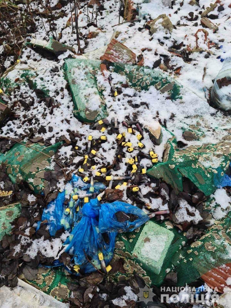 Поблизу Львова виявлено звалище медичних відходів, Фото: пресслужби поліції Львівщини