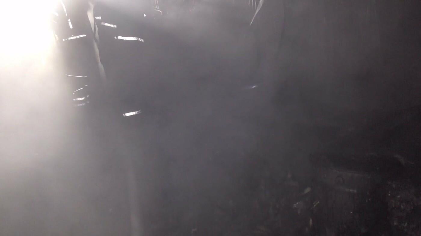 Пожежа у м'ясокомбінаті на Львівщині, Фото: пресслужби ДСНС у Львівській області
