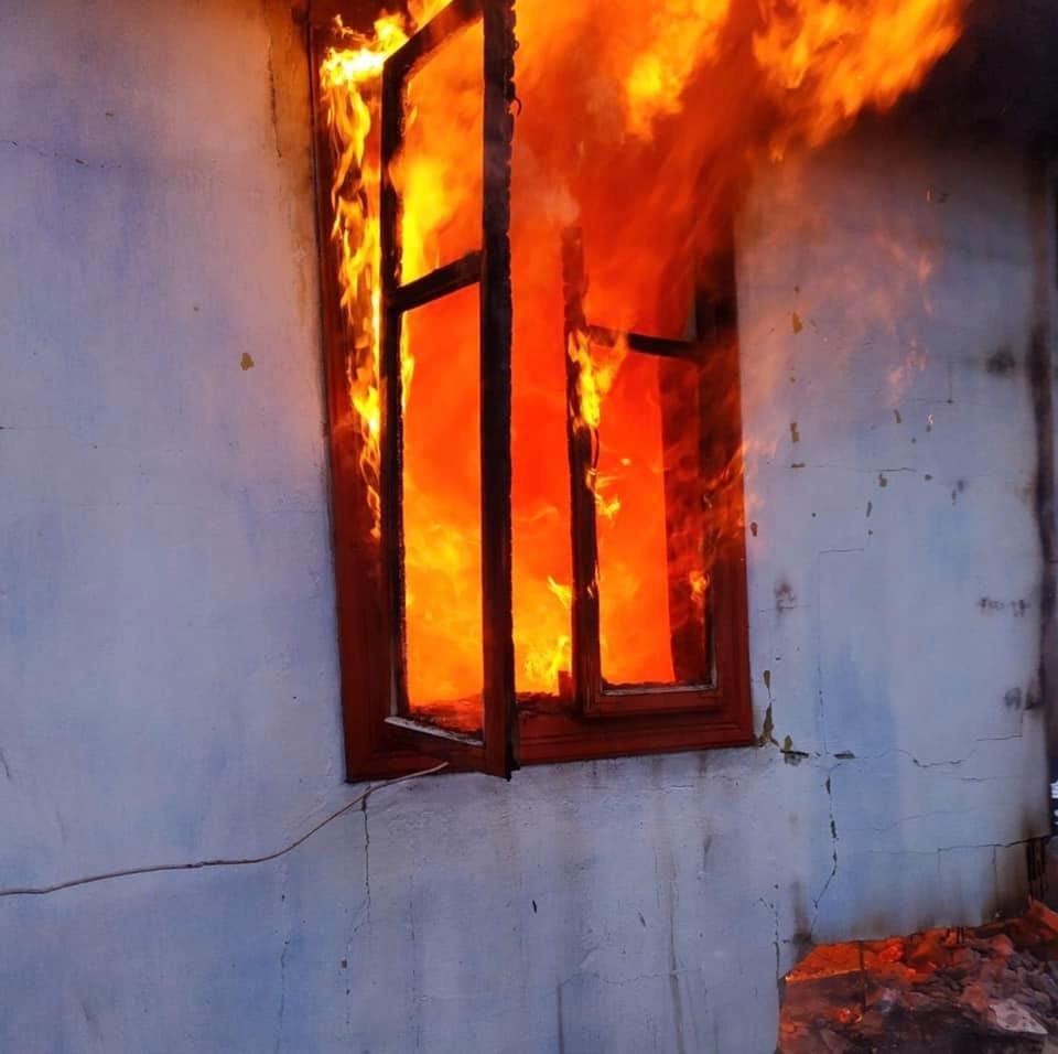 Пожежа у будинку, Фото: ДСНС Львівщини