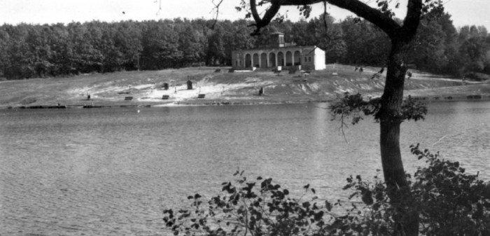 Піонерське озеро у 1960 роках, Фото: photo-lviv.in.ua
