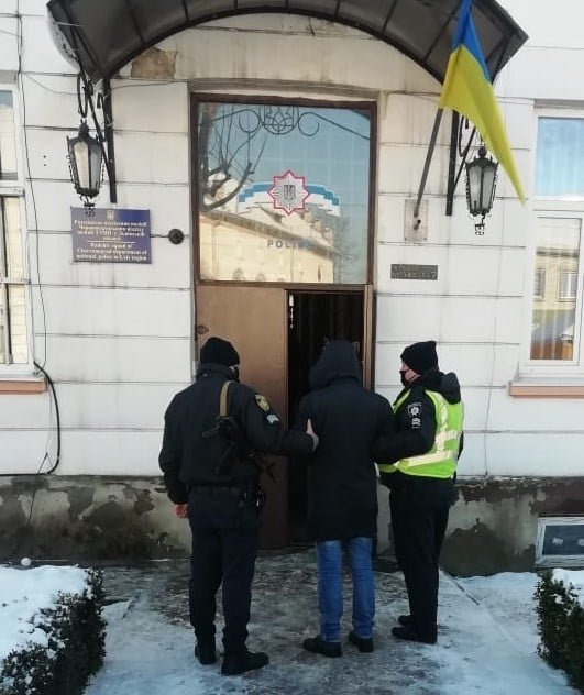 Затримали хлопця, який викрав авто на Львівщині, Фото - поліція Львівщини